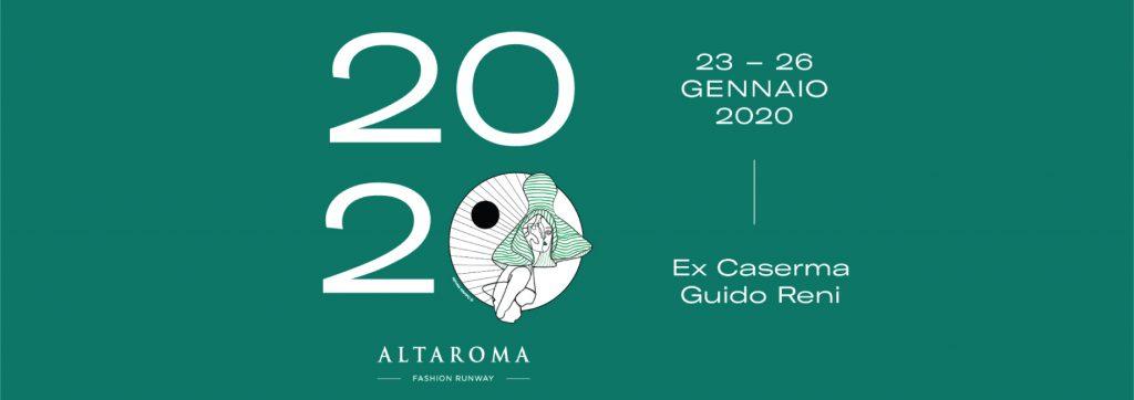 Locandina della Roma Fashion Week di Altaroma